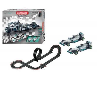 Carrera toy vehicle: GO!!! Silver Stars - Zwart, Blauw, Zilver