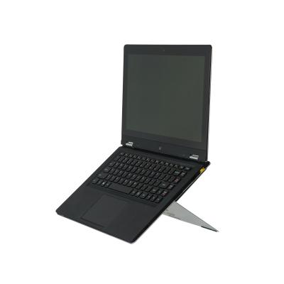 R-go tools notebooksteun: Riser Attachable Laptop Stand, integrated, adjustable, silver - Zilver