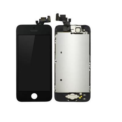 Microspareparts mobile mobile phone spare part: iPhone 5 LCD Assembly Black - Zwart