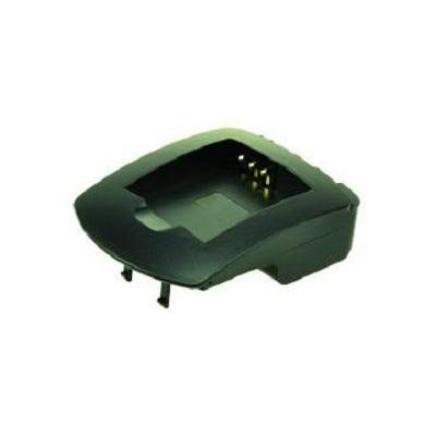 2-power oplader: JVC BN-V408, Black - Zwart