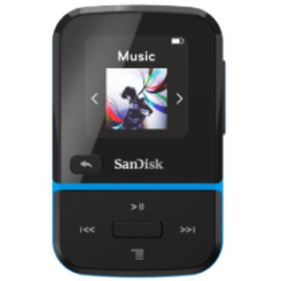 Sandisk Clip Sport Go MP3 speler - Zwart, Blauw