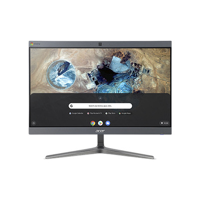 """Acer Chromebase CA24I2 23,8"""" FHD IPS Touch i5 8GB RAM 128GB SSD Enterprise Edition All-in-one pc - Grijs"""