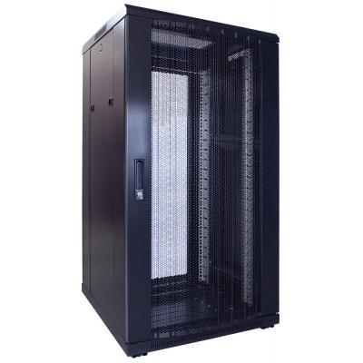 DS-IT 22U serverkast met geperforeerde deur 600x600x1200mm (BxDxH) Rack