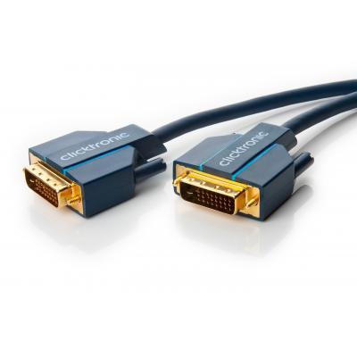 Goobay 70332 DVI kabel  - Blauw