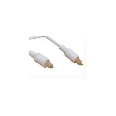 Estuff fiber optic kabel: Toslink Cable 3m - Wit