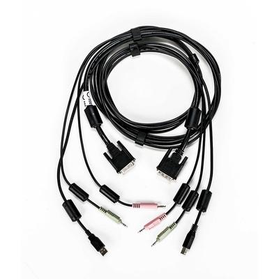Vertiv Avocent CBL0118 KVM kabel - Zwart