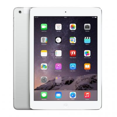 Apple tablet: iPad Air 2 Wi-Fi Cellular 64GB Silver - Refurbished - Geen tot lichte gebruikssporen - Zilver .....