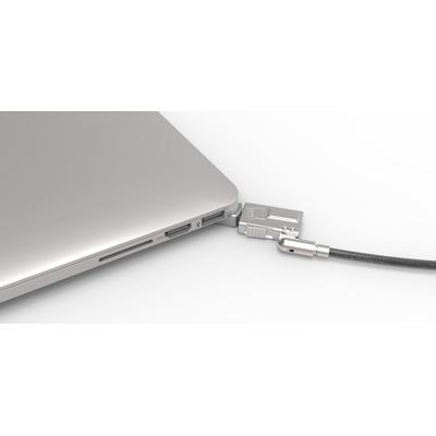 Compulocks kabelslot: MBPR15 BR Wedge - Zilver