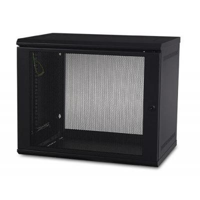 Apc rack: NetShelter WX 9U Wall Mount Cabinet - Zwart