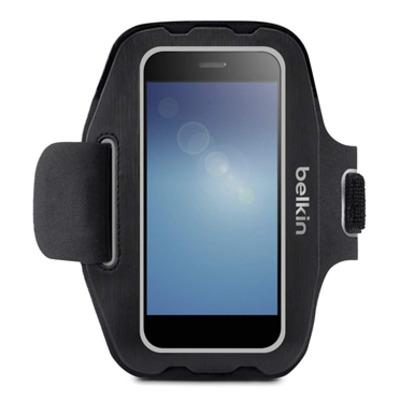 Belkin Universal Armband Large Mobile phone case - Zwart