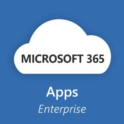 Microsoft 365 Apps for Enterprise (Maandelijks) Software licentie