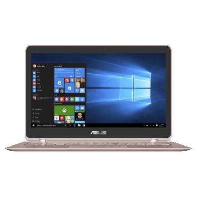 Asus laptop: ZenBook Flip UX360UAK-BB298T - Roze goud