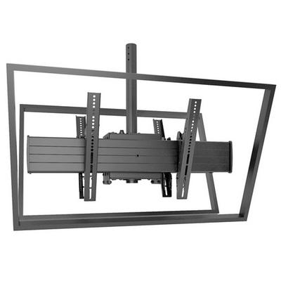 Chief FUSION X-Large Single Pole Flat Panel Ceiling Mounts Montagehaak - Zwart