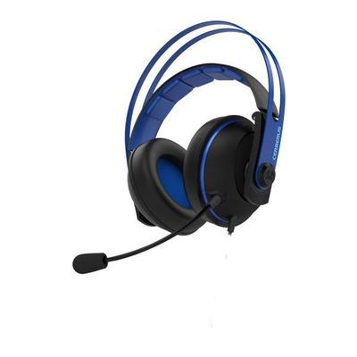 ASUS Cerberus V2 headset - Zwart, Blauw