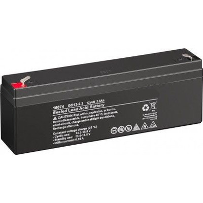 CoreParts 27.6Wh Lead Acid Battery UPS batterij - Zwart