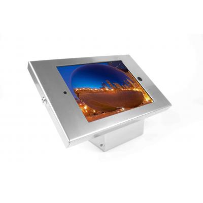 Maclocks : iPad Enclosure Kiosk, iPad Mount Bundle w/ Security Lock, f/ Apple iPad 2/3/4, Silver - Zilver