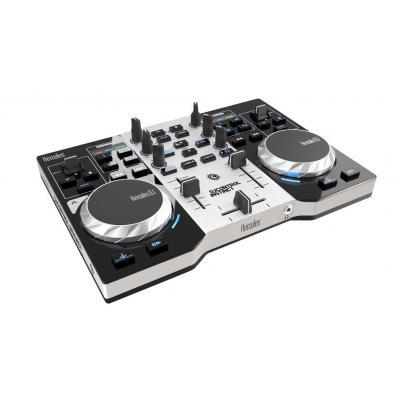Hercules DJ controller: DJControl Instinct Party Pack - Zwart, Grijs