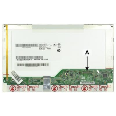 2-power notebook reserve-onderdeel: 8.9 WSVGA 1024x600 LED Glossy Screen - replaces 42T0599