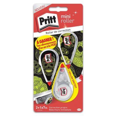 Pritt Corr Mini Roller Film/tape correctie - Multi kleuren