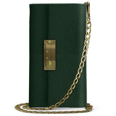 IDeal of Sweden Kensington Clutch Samsung Galaxy S10 - Groen - Groen / Green Mobile phone case
