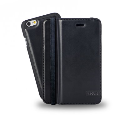 Azuri AZWALLETLX2IPH6-BLK mobile phone case