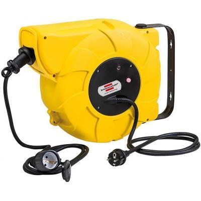 Brennenstuhl power extrention: 9+2m H07RN-F3G1,5 - Zwart, Geel