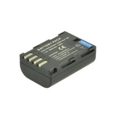2-power batterij: Li-Ion 1600mAh - Zwart