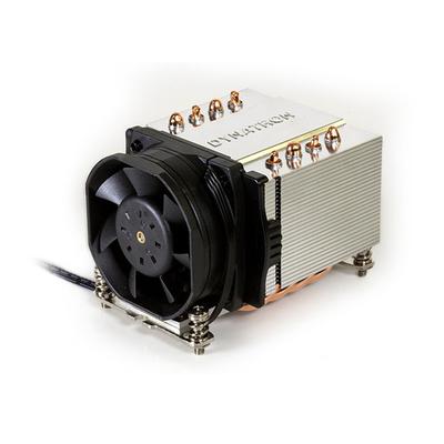 Inter-Tech A-24 Hardware koeling - Aluminium, Zwart