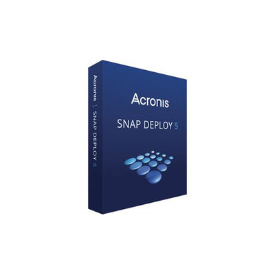 Acronis Snap Deploy v5 Software licentie