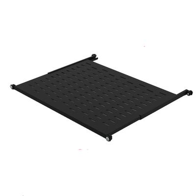 Minkels Variable perforated 19-inch shelf, 447 x 700, 40kg Rack toebehoren - Zwart