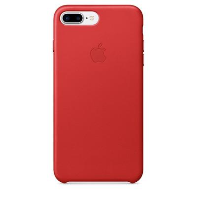 Apple mobile phone case: Leren hoesje voor iPhone 7 Plus - (PRODUCT)RED - Rood