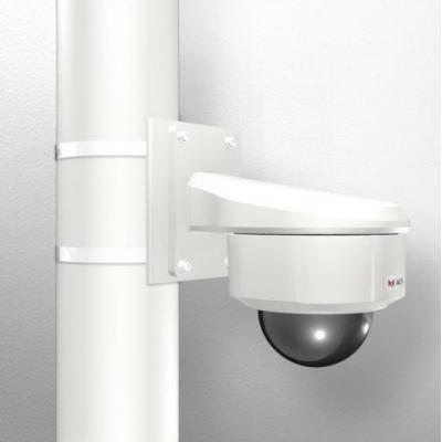 Acti beveiligingscamera bevestiging & behuizing: Pole Mount with Heavy Duty Wall Mount for Outdoor Domes