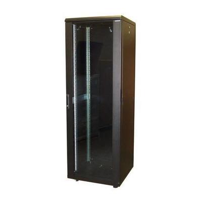 """Lanview 19"""", 42U, 800 x 800 x 2080 mm, 1500 Kg max, Steel, Black Rack - Zwart"""