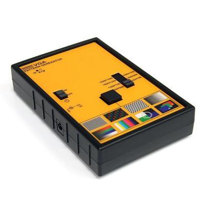 Startech.com accesoire: VGA Video Testbeeldgenerator - Zwart