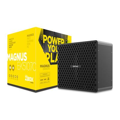 Zotac ZBOX MAGNUS EK51070 Barebone - Zwart