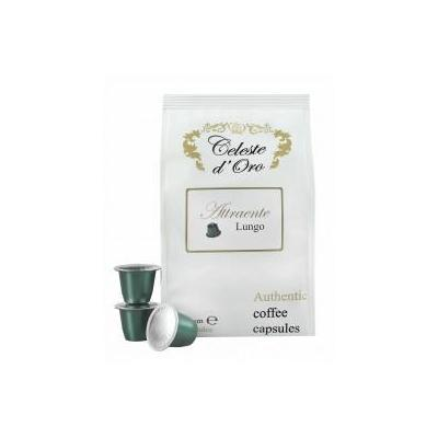 Celeste d'oro koffie: Attraente (Lungo) voor Nespresso® machine 200 capsules
