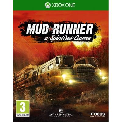 Focus home interactive game: Spintires: MudRunner  Xbox One