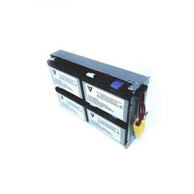 V7 RBC133 UPS UPS batterij - Zwart,Metallic