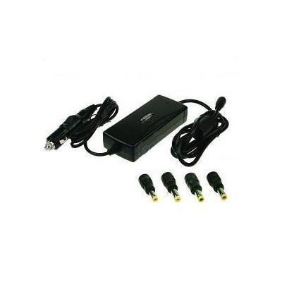 2-power oplader: Car & Aircraft Adapter for Asus Models - Zwart