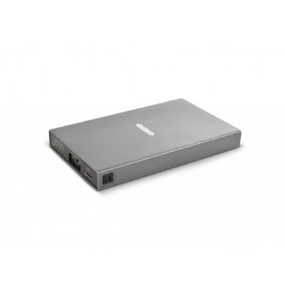 Sitecom behuizing: USB 3.1 Dual M-SATA Case - Grijs