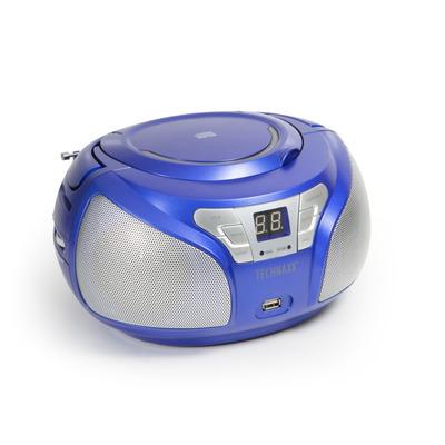 Technaxx BT-X38 CD speler - Blauw