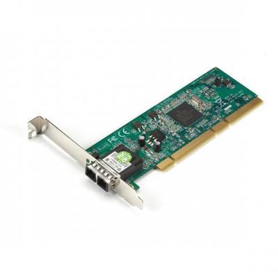 Black Box PCI Fiber Adapter, 1000BASE-SX, 64-/32-Bit, Multimode, SC Interfaceadapter - Zilver