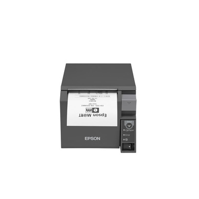 Epson TM-T70II (023B2): UB-E04 + Built-in USB, PS, ECW, EU Pos bonprinter - Zwart