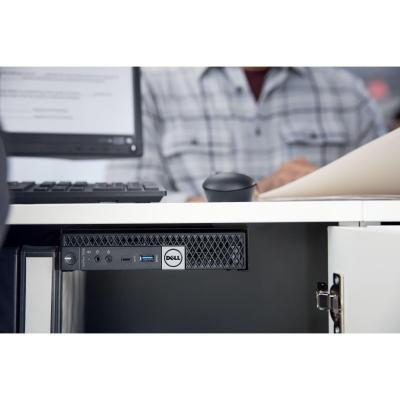 Dell montagekit: OptiPlex Micro VESA montage met adapter box - Zwart