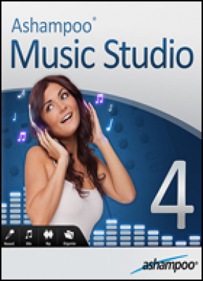 Ashampoo audio software: Music Studio 4 (download versie)