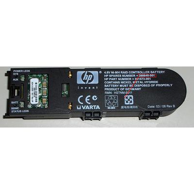 HP Battery 4.8V, 500mAh, Ni-MH, Black Refurbished - Zwart - Refurbished ZG