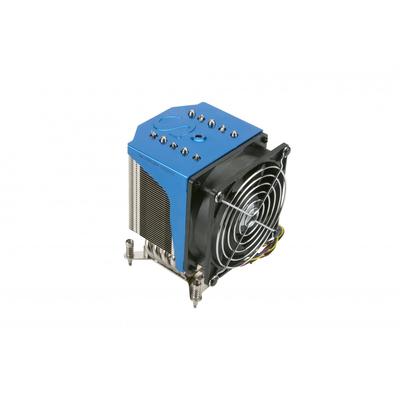 Supermicro SNK-P0051AP4 Hardware koeling - Zwart, Blauw, Metallic, Zilver