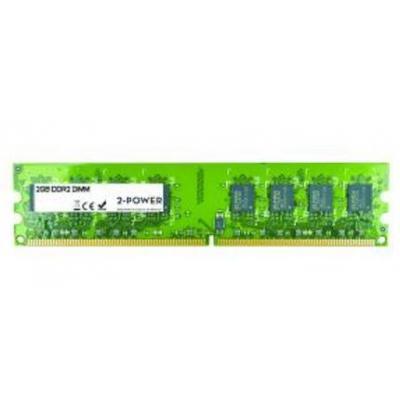 2-power RAM-geheugen: 2GB DDR2 DIMM - Groen