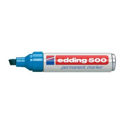 Edding marker: 500 - Blauw, Wit