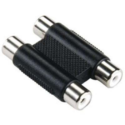 Bandridge BE BLUE Stereo RCA Coupler Kabel adapter